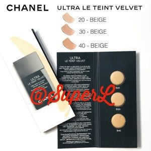 3/$15 NEW Chanel ultra le teint Foundation Beige